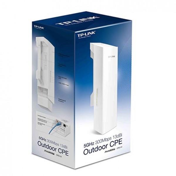 Cpe ext rieur 5ghz 300mbps 13dbi tp link maroc dml for Antenne wifi exterieur