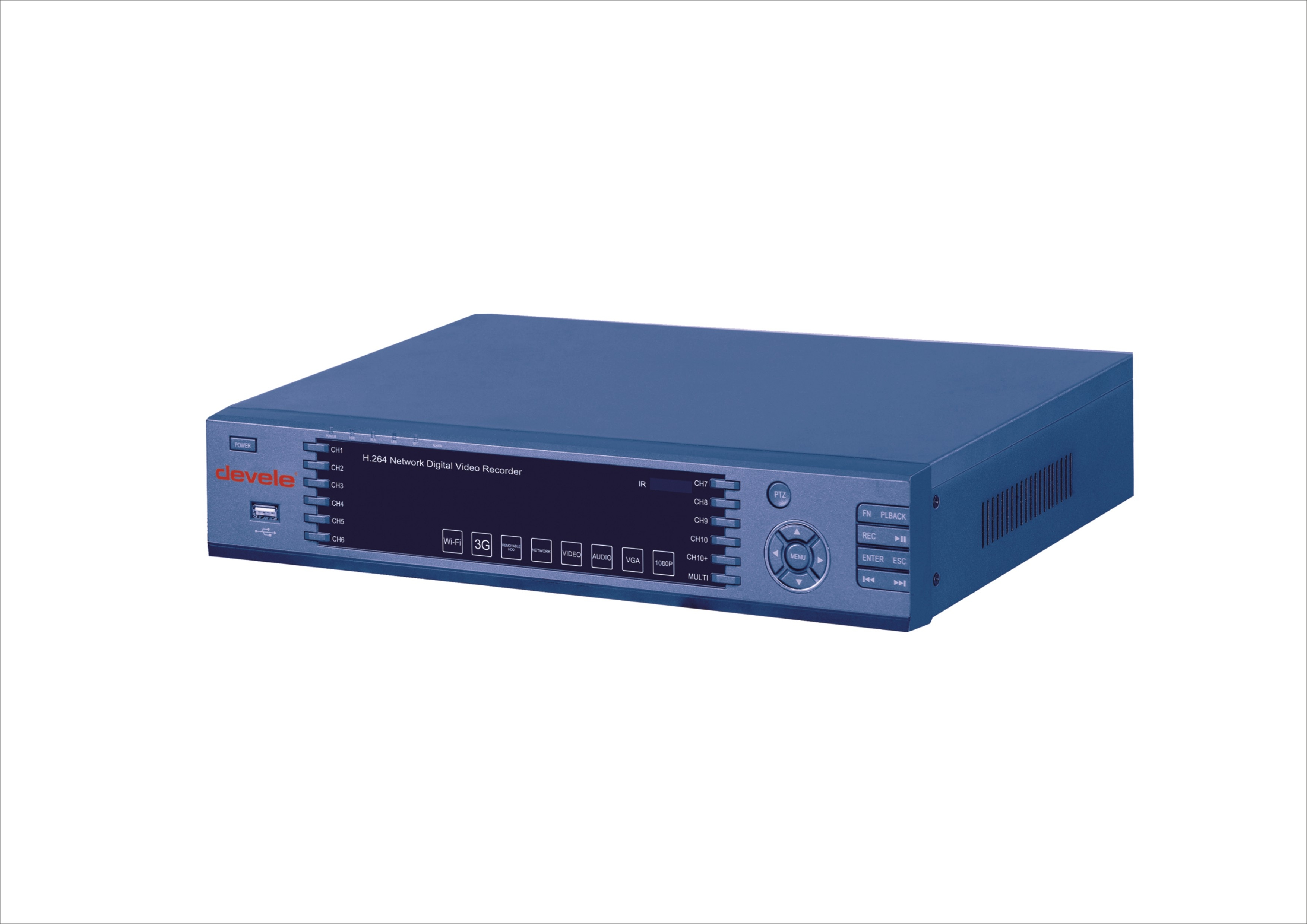 H.264 Network Digital Video Recorder