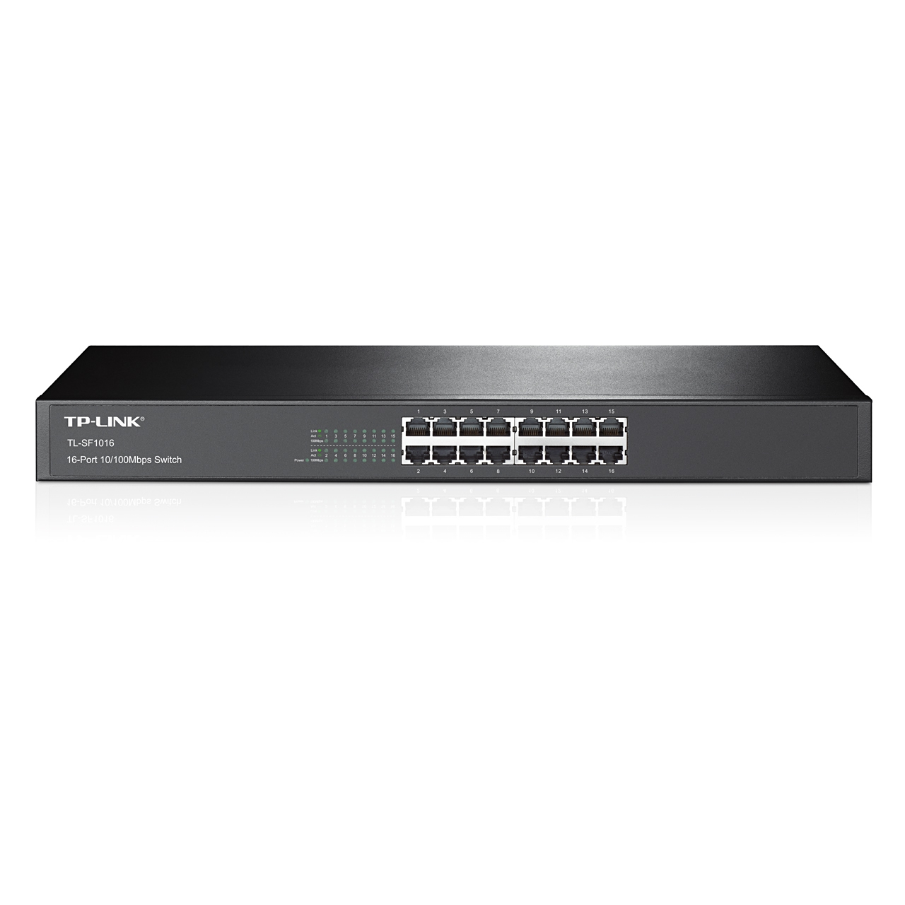 Switch rackable 16 ports 10/100 Mbps