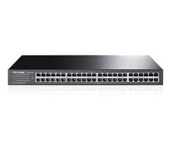 48-Port 10 / 100Mbps en rack switch