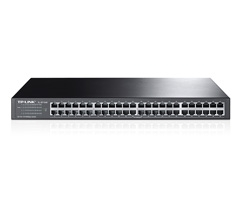 48-Port 10 / 100Mbps en rack switch