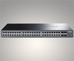 48-Port Gigabit Smart Switch with 4 SFP Slots