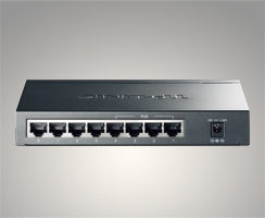 Switch de bureau 8 ports Gigabit – 4 Ports PoE