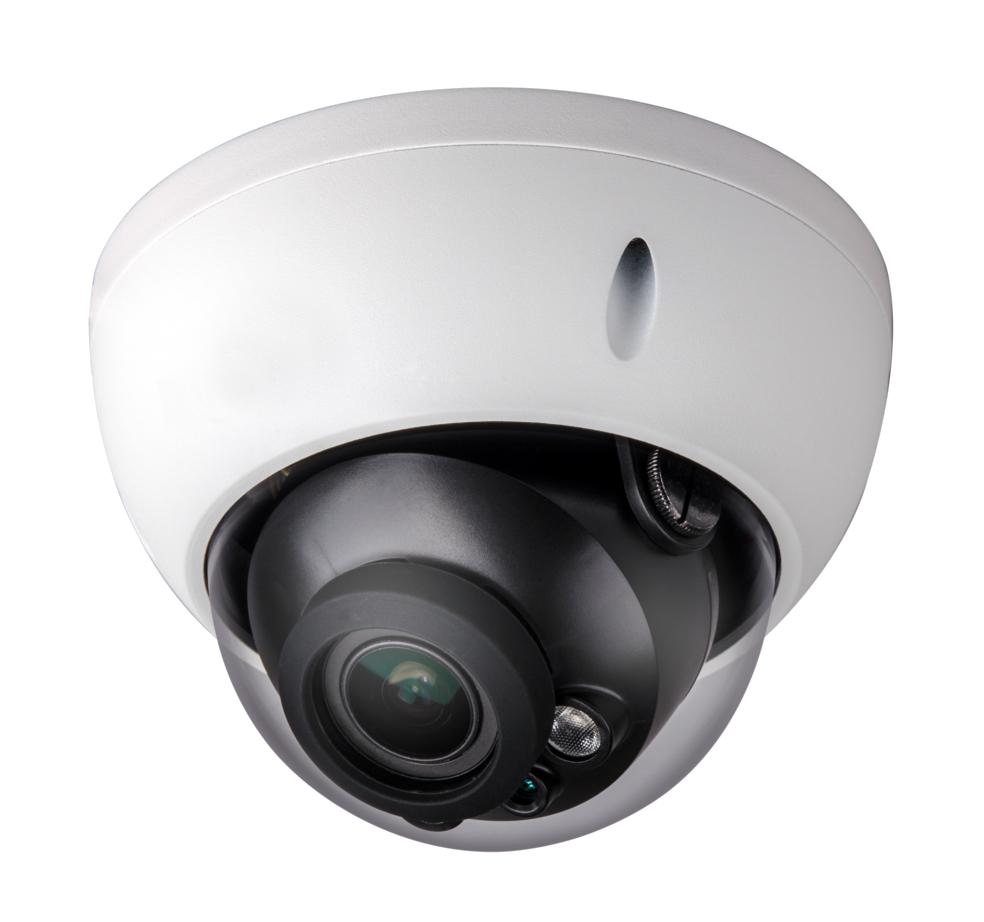 Caméra dôme 2,4 mégapixels 1080p IR HDCVI anti-vandalisme