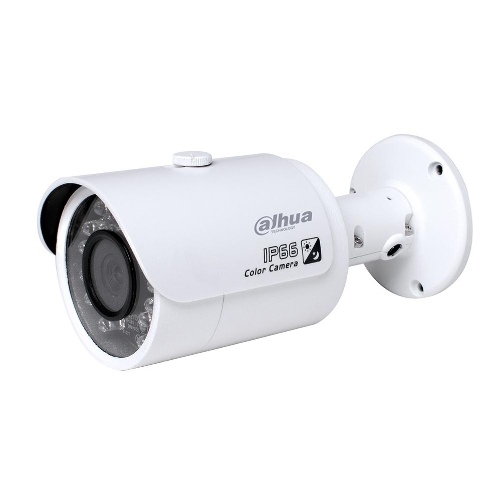 Petite caméra IR de type balle réseau entièrement HD 2 mégapixels IPC-HFW1200S