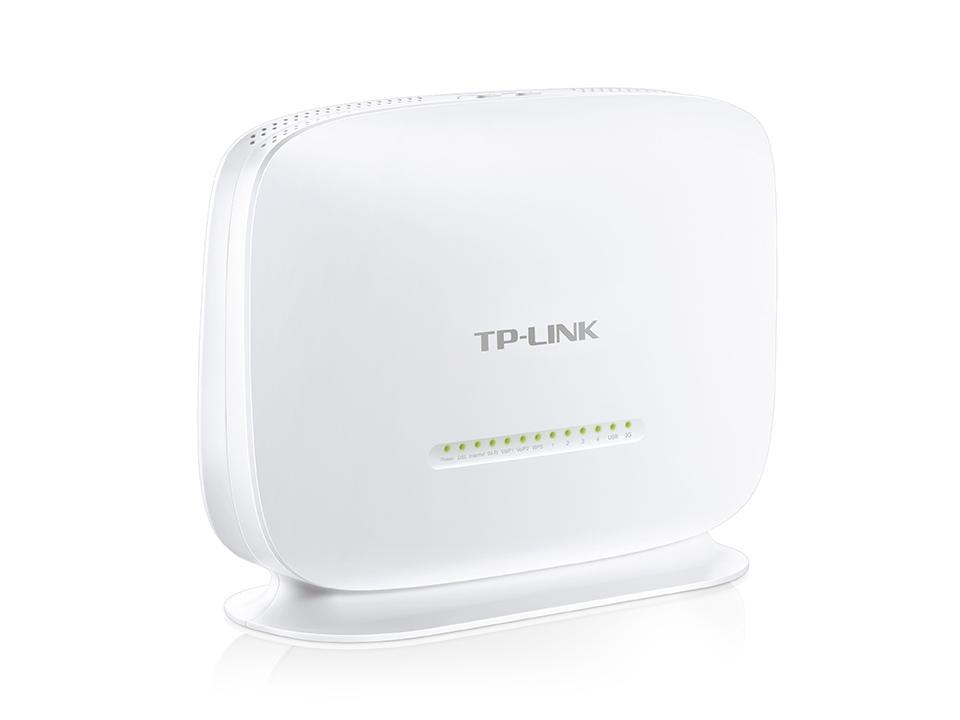 300Mbps Wireless N VoIP VDSL/ADSL Modem Router TD-VG5612