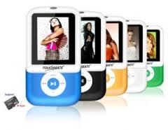 TOUCHMATE rays MP4 Player 4GB
