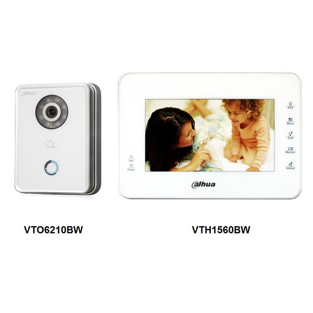 7 Inch IP Kit VTKB-VTO6210BW-VTH1560BW