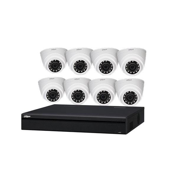 720P HDCVI Kit KIT/HCVR4108HS-S2/8-HDW1000R