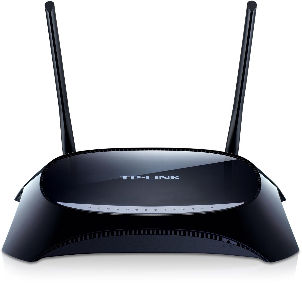 Modem routeur VoIP ADSL2+sans fil N 300 Mbps