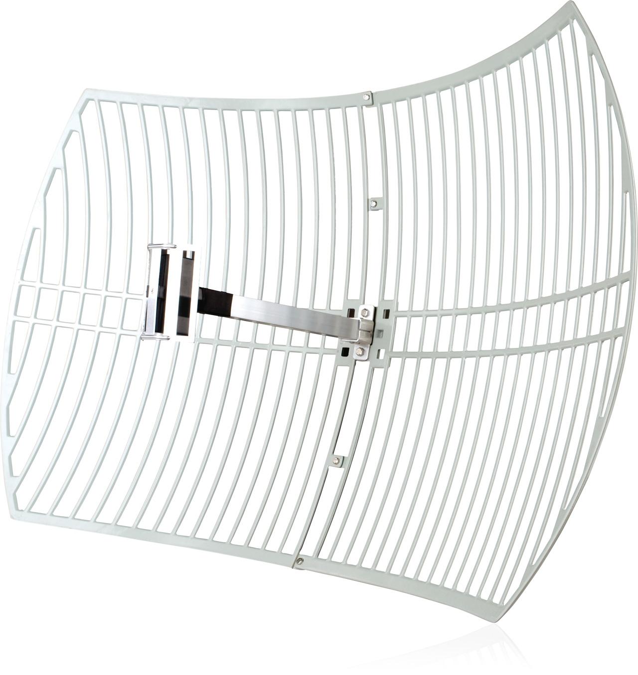 Antenne parabolique 24 dBi pour réseaux 2,4 GHz
