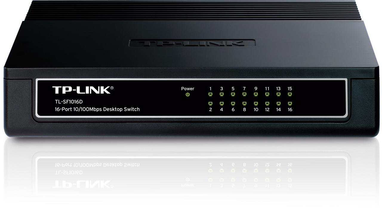 Switch de bureau 16 ports 10/100 Mbps