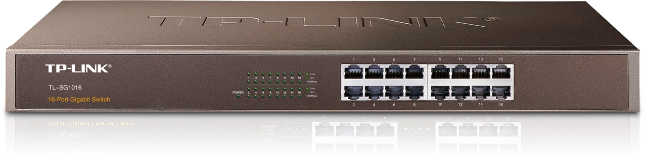 Switch Gigabit 16 ports