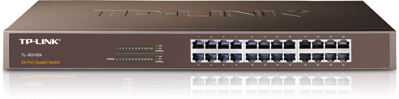 Switch Gigabit 24 ports