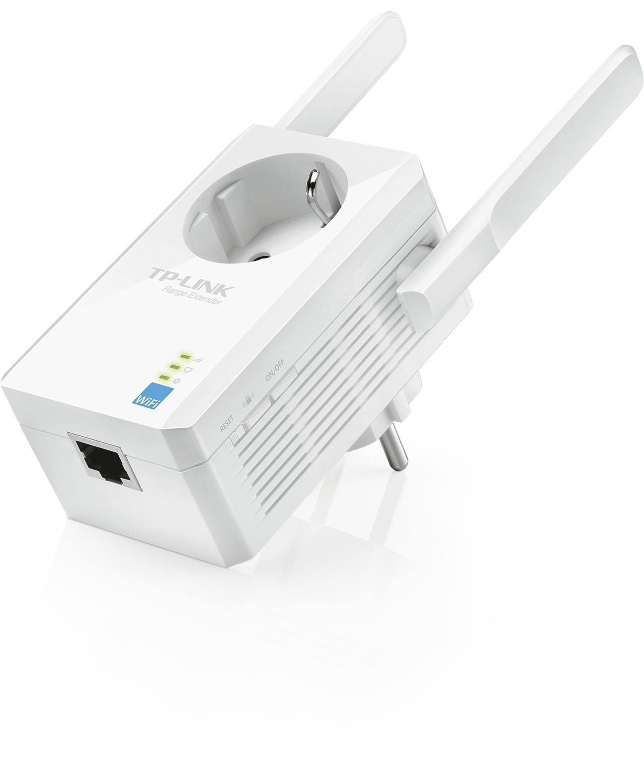 Répéteur Wi-Fi N 300 Mbps avec prise gigogne