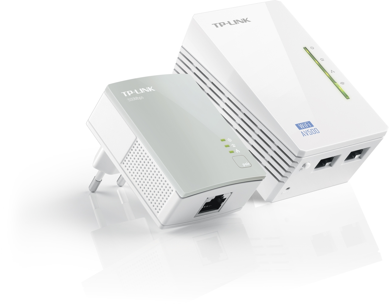 Kit Extenseur CPL AV500 Wi-Fi N 300