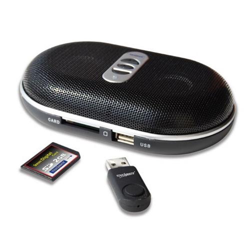 TOUCHMATE USB/SD Portable Speaker