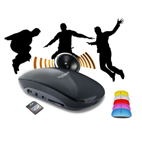 TOUCHMATE Rechargeable MP3 Speaker With FM