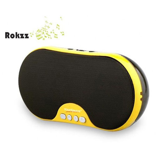TOUCHMATE Portable USB/Mini SD/FM Loud Speaker