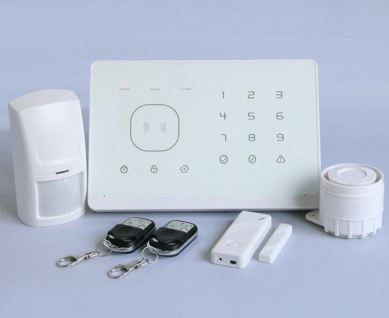 système d'alarme avec la technologie rfid